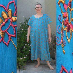 Turquoise Embroidered Shalwar Kameez 2-Piece Set